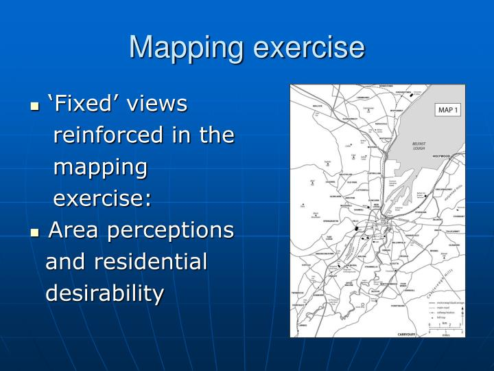 Mapping exercise