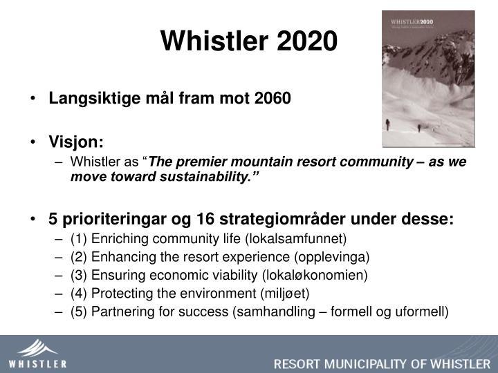 Whistler 2020