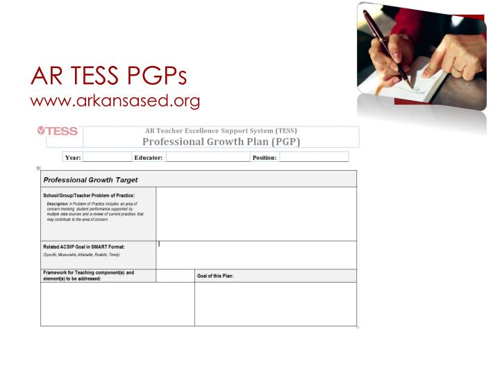 AR TESS PGPs