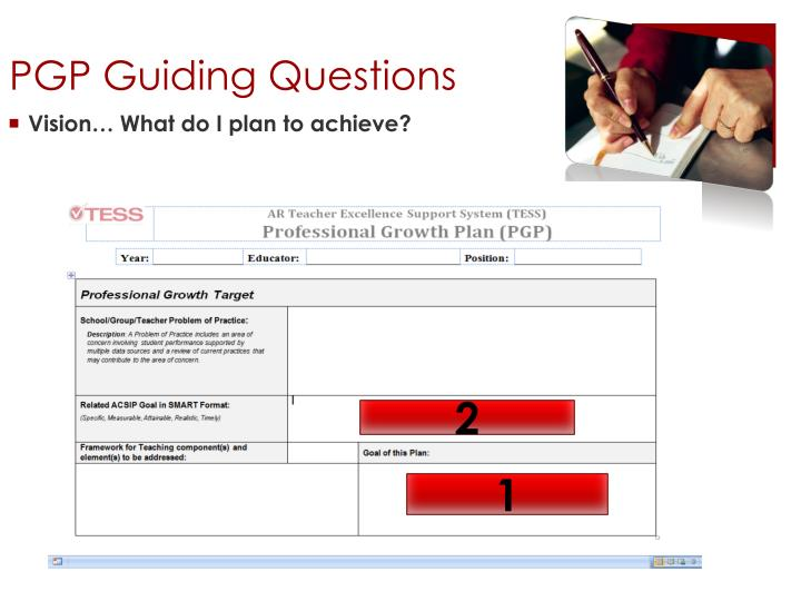 PGP Guiding Questions