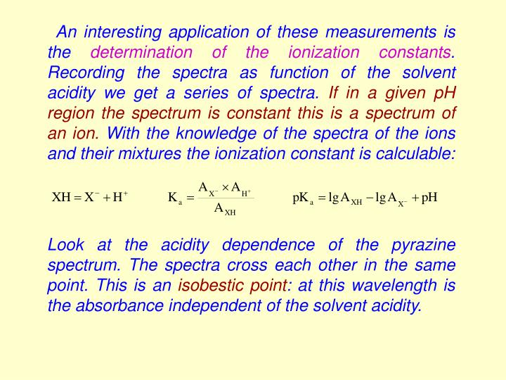 An interesting application of these measurements is the