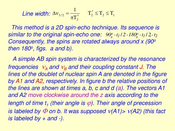 Line width: