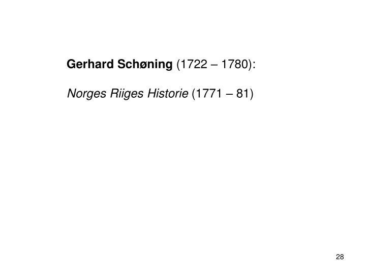 Gerhard Schøning