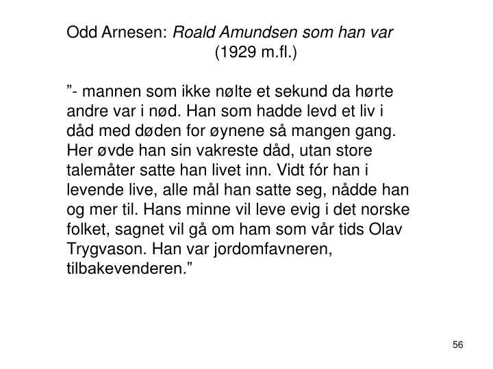 Odd Arnesen: