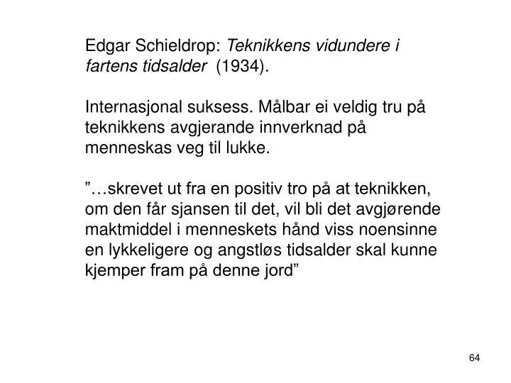 Edgar Schieldrop:
