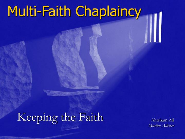 Multi-Faith Chaplaincy