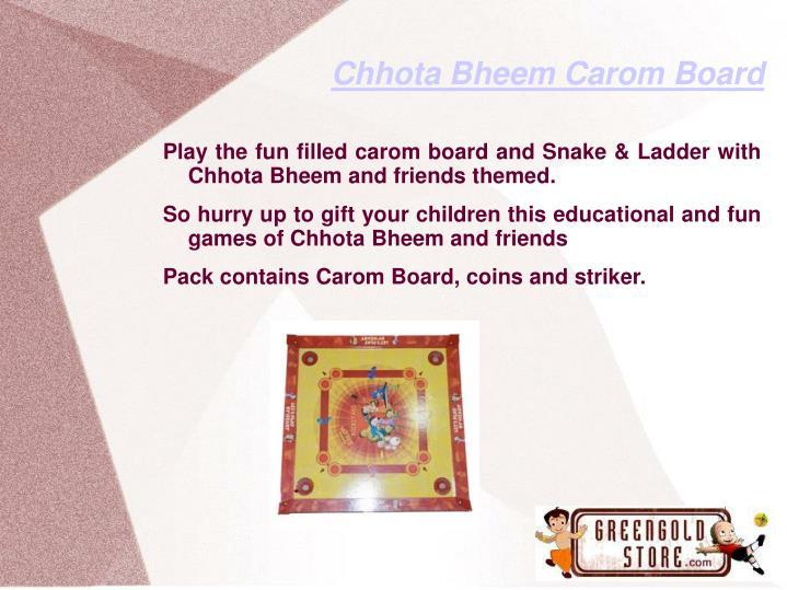Chhota Bheem Carom Board