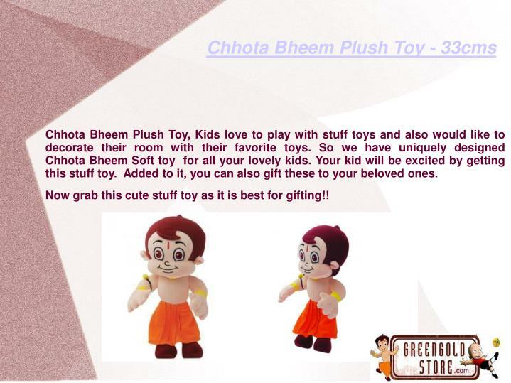 Chhota Bheem Plush Toy - 33cms
