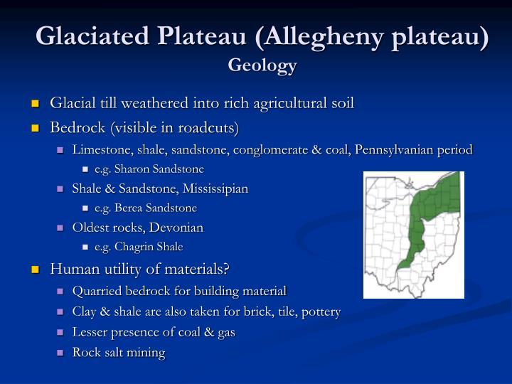 Glaciated Plateau (Allegheny plateau)