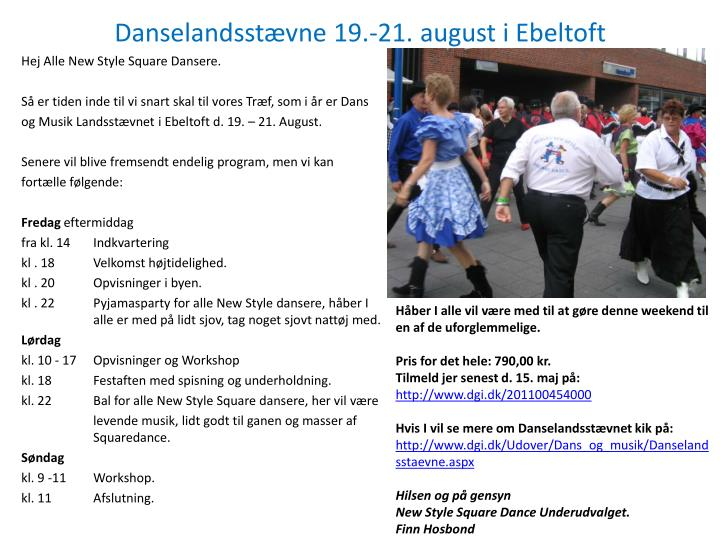 Danselandsst vne 19 21 august i ebeltoft