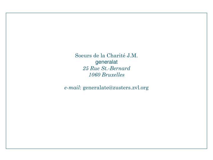 Soeurs de la Charité J.M.