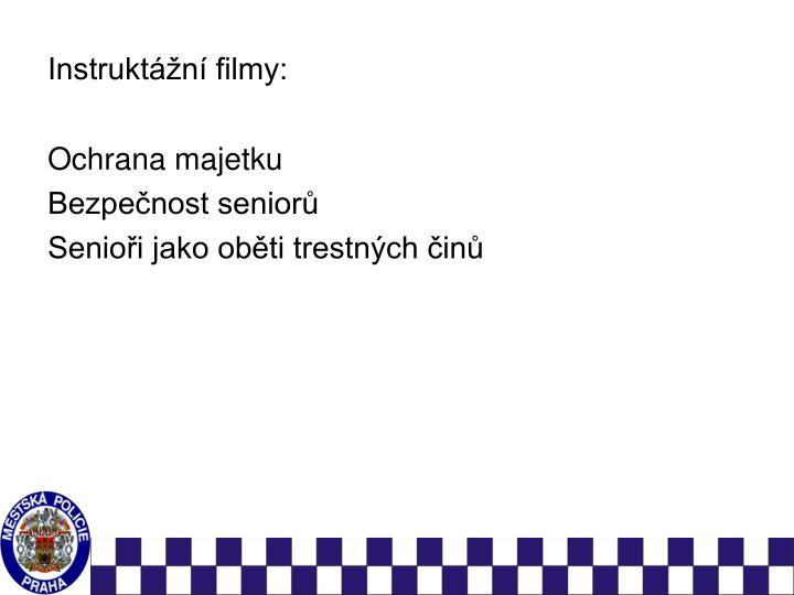 Instruktážní filmy: