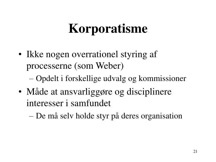 Korporatisme