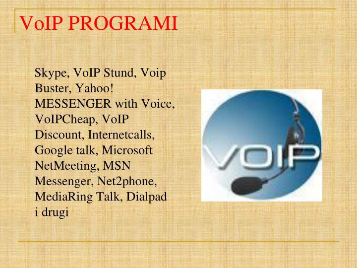 VoIP PROGRAMI