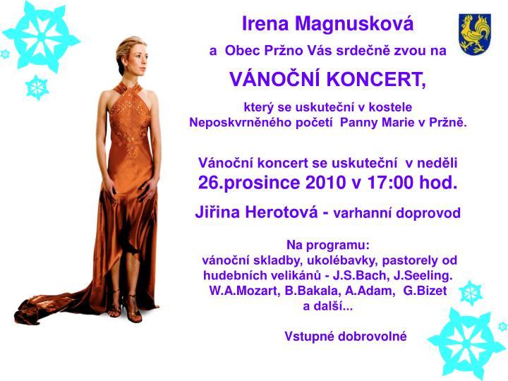 Irena Magnusková