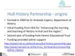 hull history partnership origins