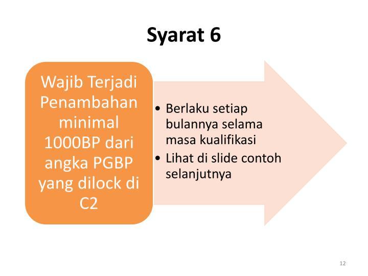 Syarat 6