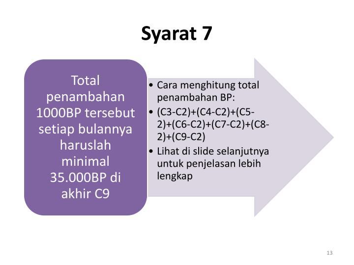 Syarat 7