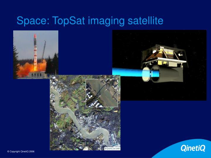 Space: TopSat imaging satellite