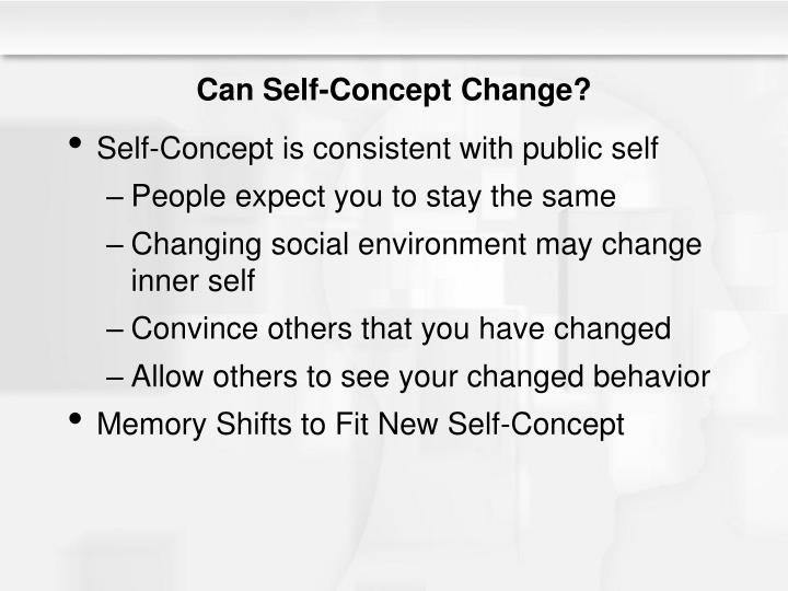 Can Self-Concept Change?