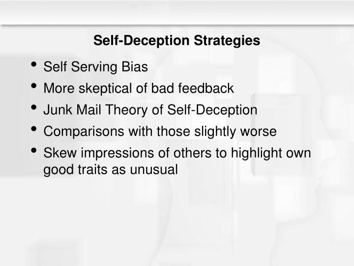 Self-Deception Strategies