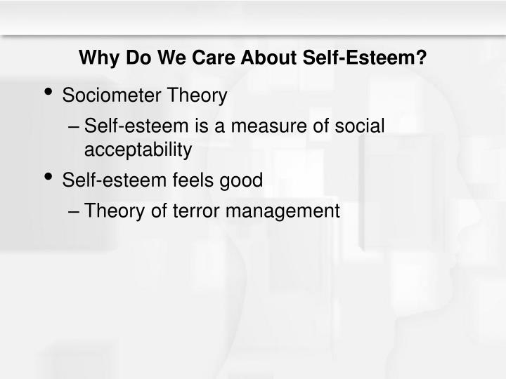Why Do We Care About Self-Esteem?