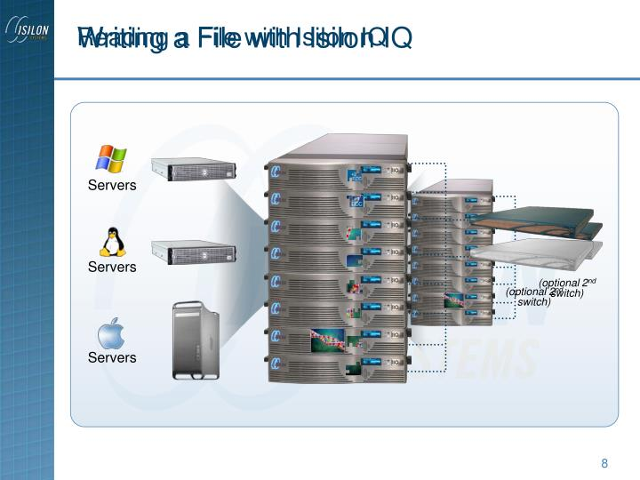 Writing a File with Isilon IQ