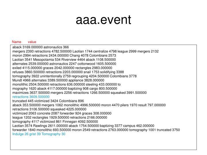 aaa.event