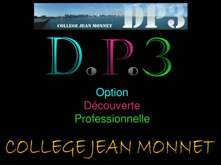 Option d couverte professionnelle