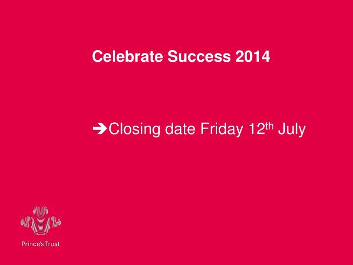 Celebrate Success 2014