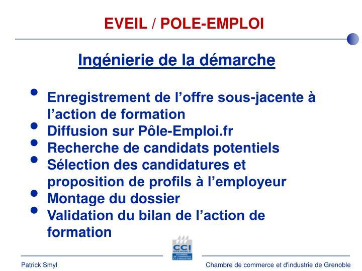 EVEIL / POLE-EMPLOI