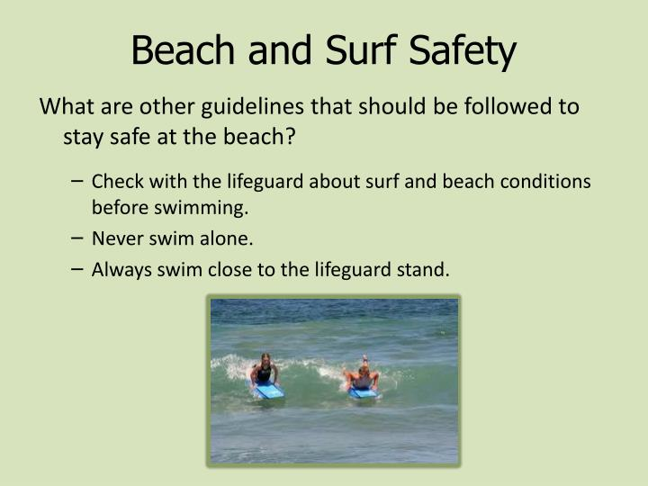 Beach and Surf Safety