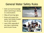 general water safety rules2