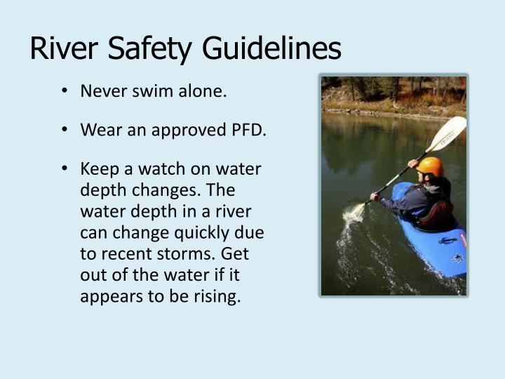 River Safety Guidelines