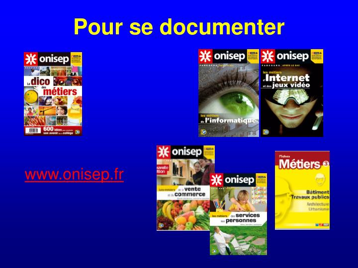 Pour se documenter