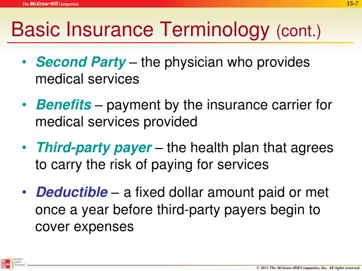 Basic Insurance Terminology