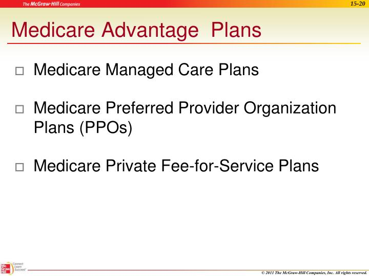 Medicare Managed Care Plans