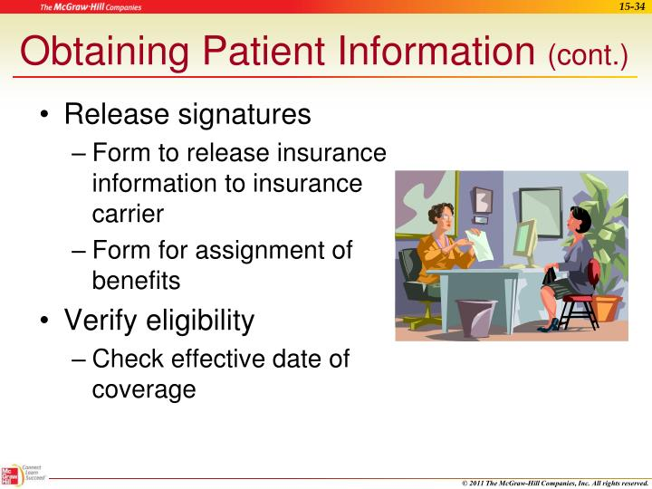 Obtaining Patient Information