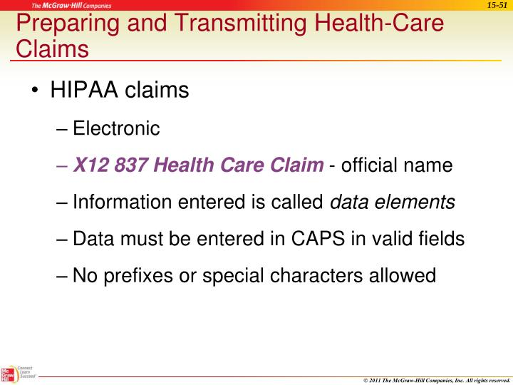 HIPAA claims