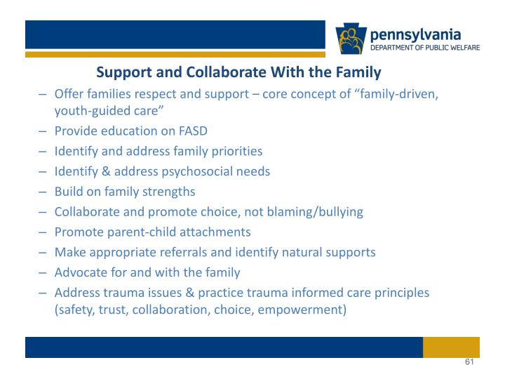 Support and Collaborate With the Family