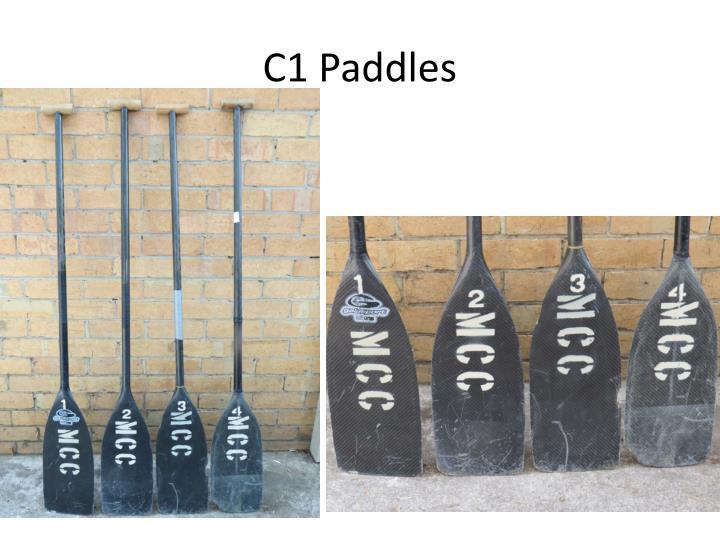 C1 Paddles