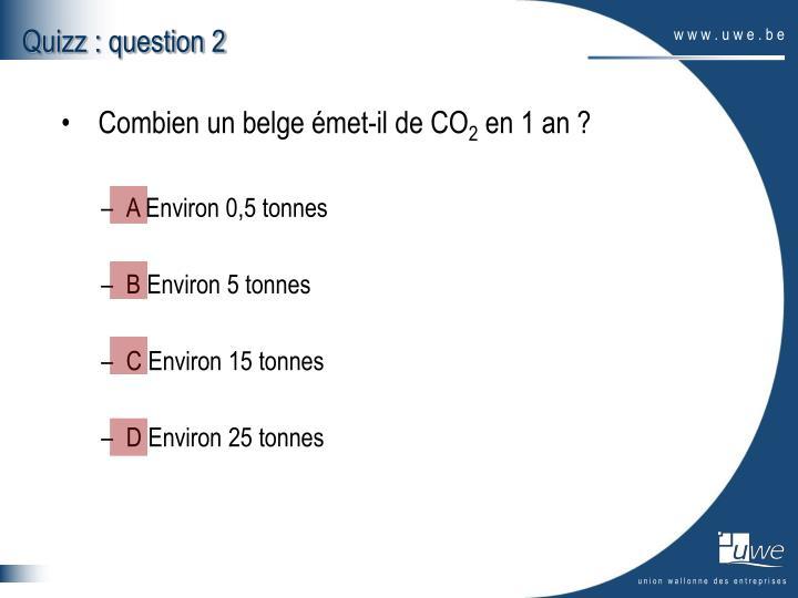 Quizz : question 2