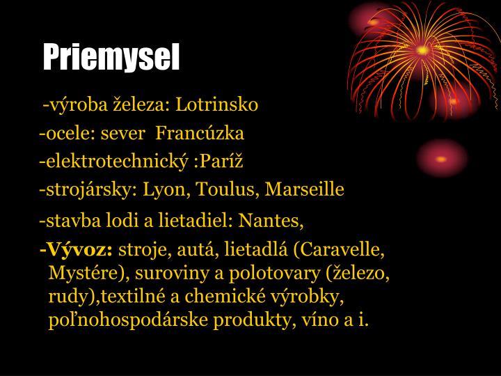 Priemysel