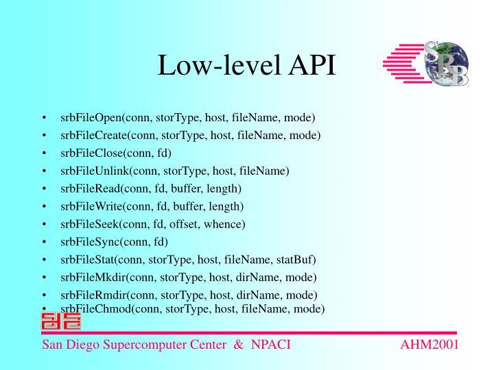 srbFileOpen(conn, storType, host, fileName, mode)