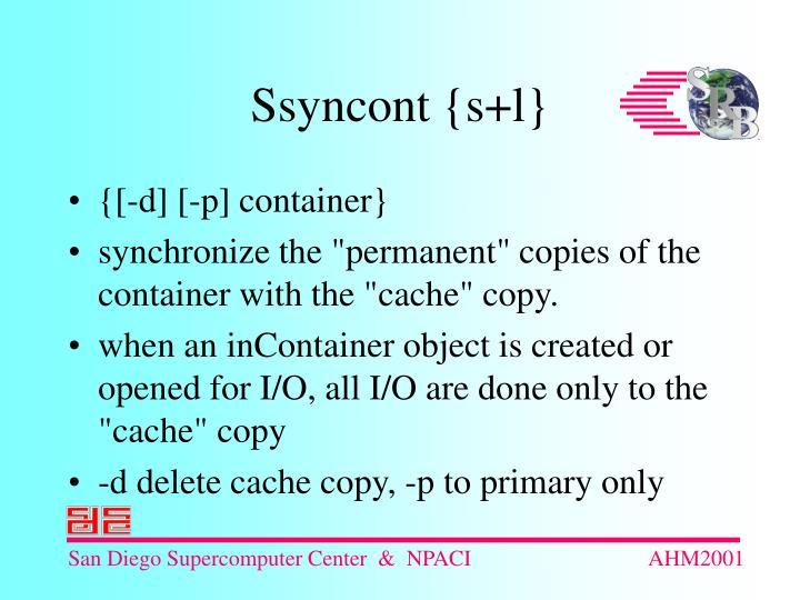 {[-d] [-p] container}