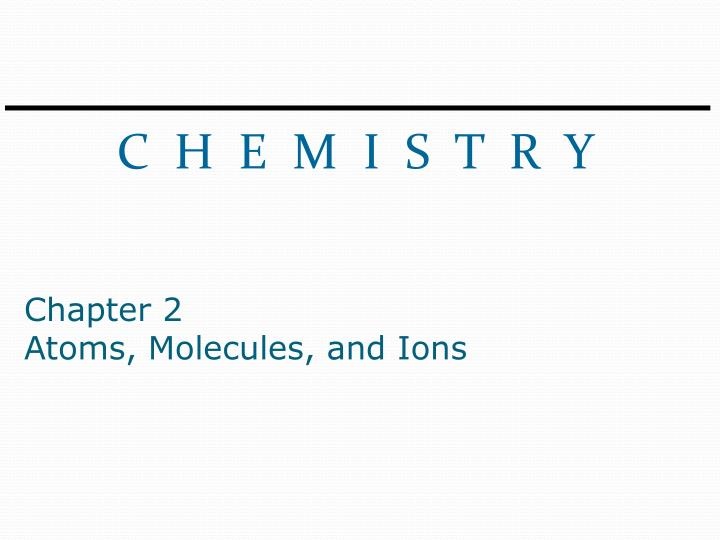 Chapter 2 atoms molecules and ions worksheet