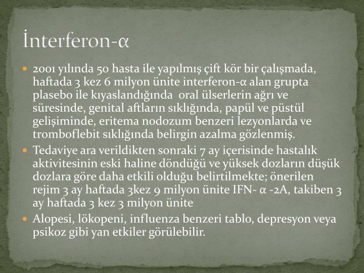 İnterferon-
