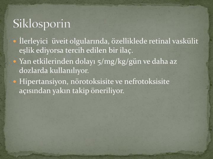 Siklosporin