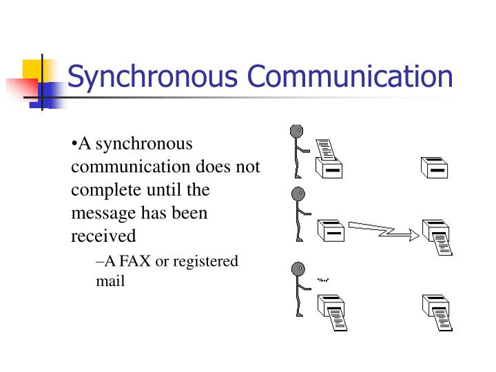 Synchronous Communication