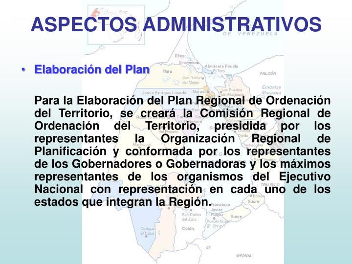 Elaboración del Plan